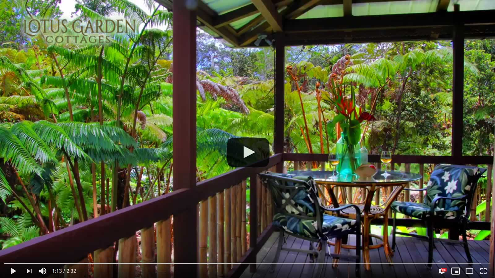 Lotus Garden Cottages Video