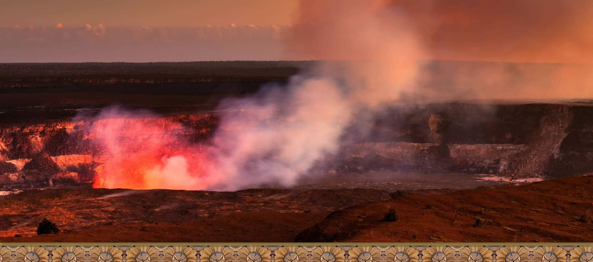 Volcanic adventures