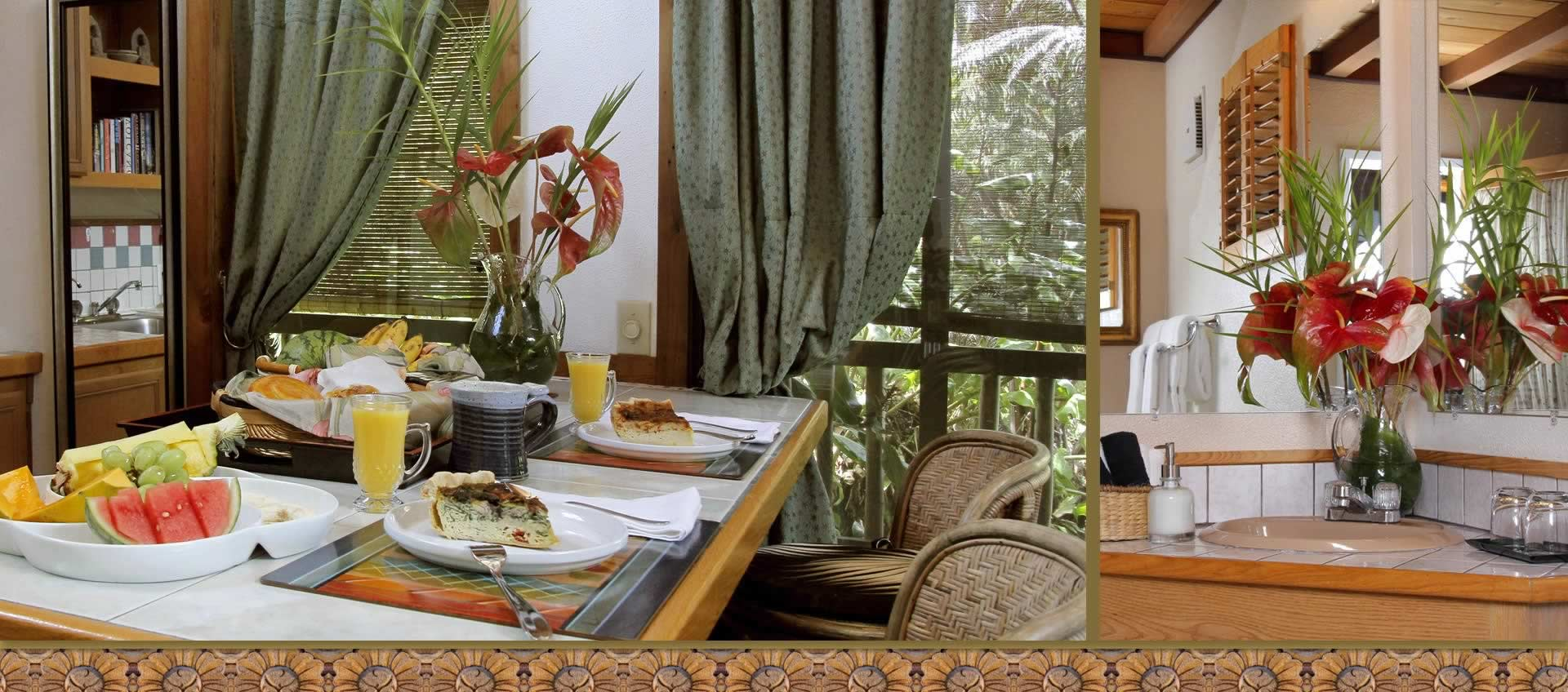 Lotus Garden Cottages Luxury Bed & Breakfast - Volcano Hawaii